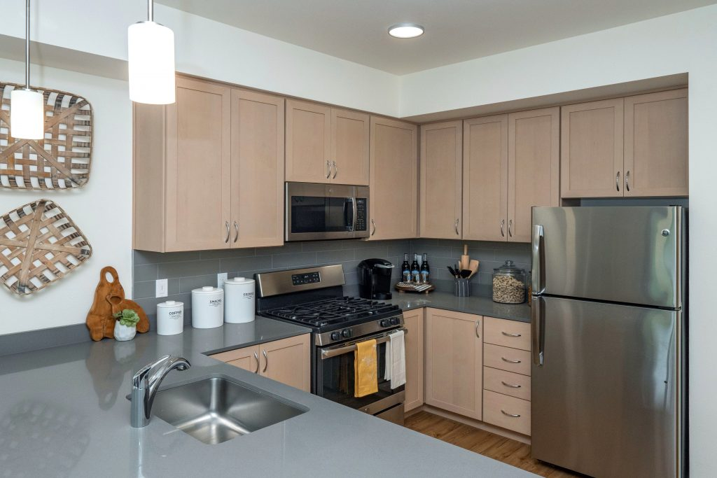 apartment kitchen interior