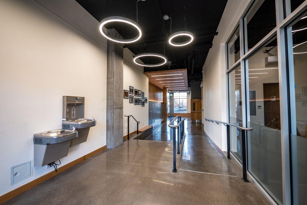 Amazon Corner Lobby
